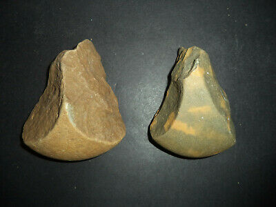 2 Neolithic hand axes from Iberian tribes ref 4.37