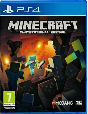 Minecraft Game - PS4 Edition. Brand New and Sealed. Now Free Delivery!!