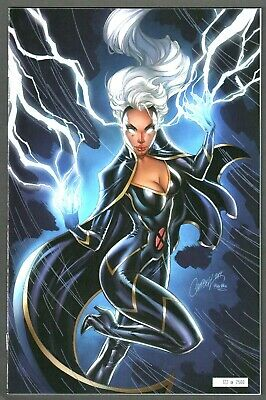 House Of X #5 2019 Nycc Exclusive J. Scott Campbell Glow In The Dark Variant