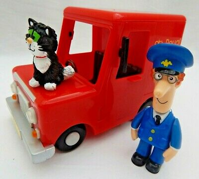 Postman Pat And Jess Figures With Friction Royal Mail Van