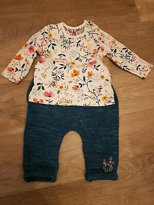Mothercare Baby Girls Autumn Outfit 3 - 6 Months