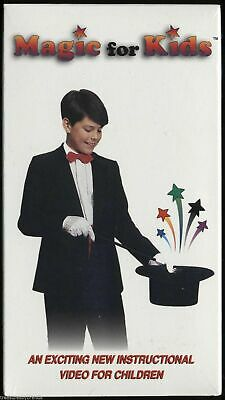 MAGIC TRICKS FOR KIDS VHS Videotape Instructional Children Educational New
