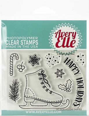 Avery Elle Clear Stamp Set 4X3-Some Bunny