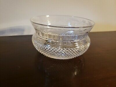 Edinburgh Thistle Finger Bowl