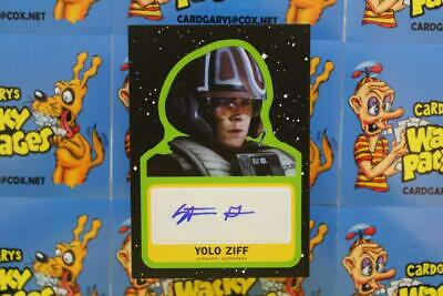Journey To Star Wars The Rise Of Skywalker Autograph Stefan Grube Yolo Ziff 7316