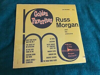 Russ Morgan and His Orchestra Golden Favorites SEALED NEW LP MCA Records cut out