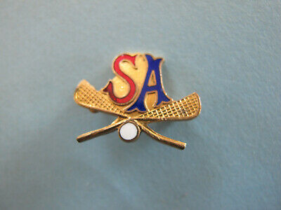 SA Lacrosse Enamel Badge