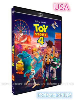 Toy Story 4 (DVD, 2019) Brand NEW Sealed In Stock !!