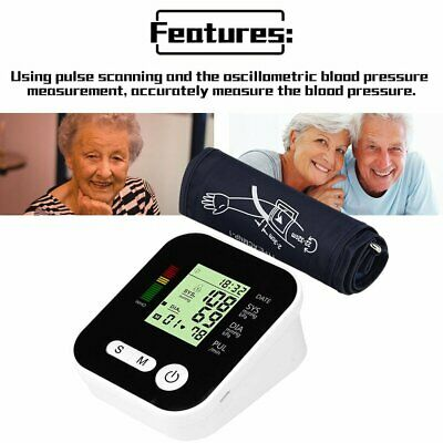 New Automatic Digital Electronic Blood Pressure Monitor Upper Arm Free Postage K