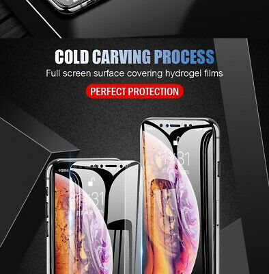 Film Protection écran Full Cover Curved Soft hydrogel Samsung Galaxy aux choix