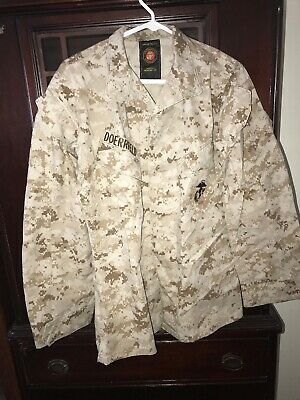 SURPLUS USMC MARINES COMBAT DESERT Marpat Digital UNIFORM JACKET SMALL REGULAR