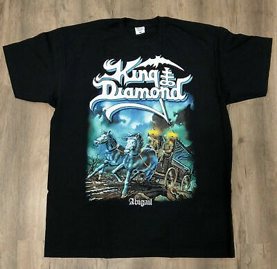 KING DIAMOND - Abigail HEAVY METAL BAND TEE VINTGE-REPRINT T SHIRT USA SIZE #VTG
