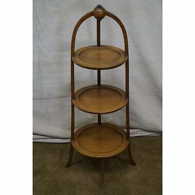 Biggs Mahogany Regency Style 3 Tier Muffin Stand    AGE/COUNTRY OF ORIGIN: Appro