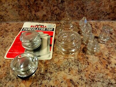 Vintage Coffee Percolator Glass Top Replacement Parts