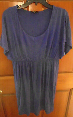Isabella Oliver Purple Short Sleeve Maternity Dress Women's Size 1