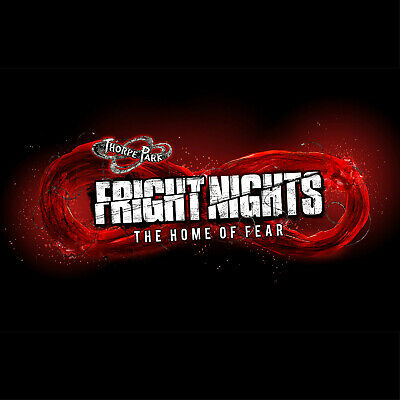 2 x Thorpe Park Fright Nights Tickets - October 26th
