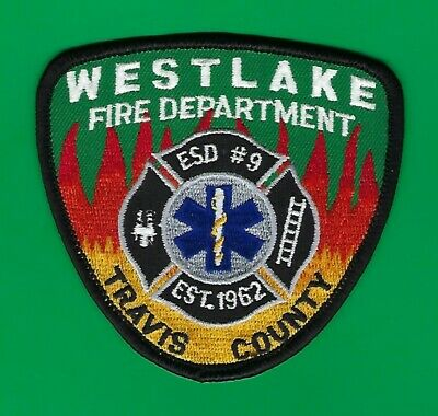 TEXAS - Westlake Fire Emergency Services District #9 Patch