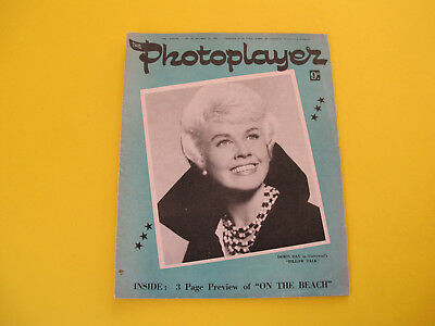 Doris Day on Front Cover 1959 Photoplayer Magazine