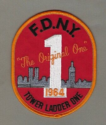NEW YORK - FDNY Tower Ladder 1 Fire Patch !