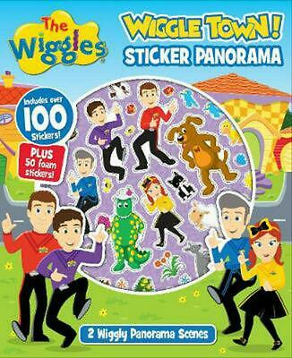 The Wiggles: Wiggle Town! Sticker Panorama by The Wiggles Paperback Book Free Sh