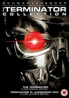 The Terminator Collection: Terminator 1 & 2 (Special Editions) [DVD], , Used; Go
