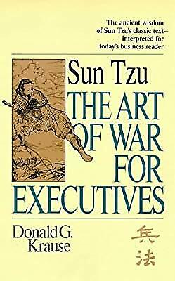 Sun Tzu The Art of War for Executives, Krause, Donald G., Used; Good Book
