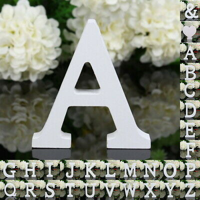 Freestanding Large 26 Wooden Wood Alphabet Letters/Wall Hanging Nursery Decor 33