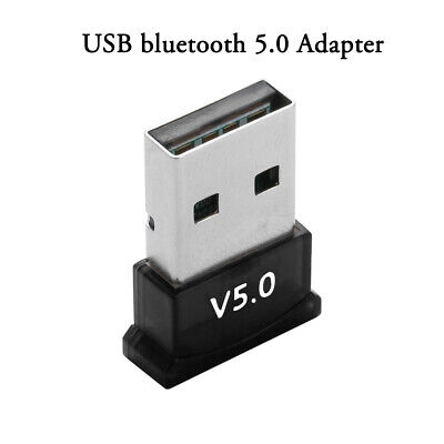 USB bluetooth 5.0 Adapter Wireless Dongle Stereo Receiver for PC Win 10 8 7/XP~~