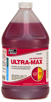 Ultra-Max pH Indicated Super Scale Remover