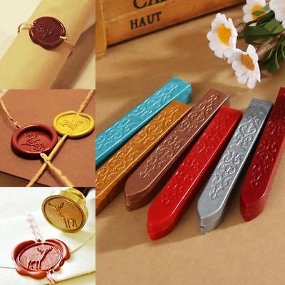 1/10Pcs Wax Sealing Stick for Letters Stamp Seal Melting Candle Envelope DIY