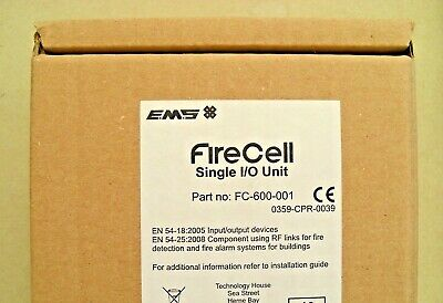 EMS Firecell FC-600-001 Radio Single Input Output Unit, £80 + vat,
