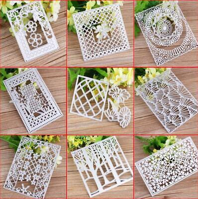 Metal Cutting Dies Frame Scrapbooking Photo Album Embossing Decorative Die DIY