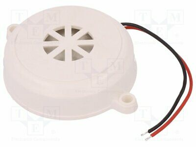 B3-C Sound transducer: piezo alarm - 12÷·24VDC - Colour: white