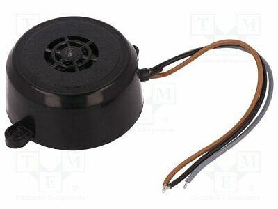 BCP-2 Sound transducer: piezo alarm - 36÷·48VAC - 36÷·48VDC - Colour: black