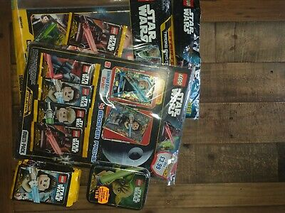 Lego Star Wars Trading Card Collection Bundle new and sealed