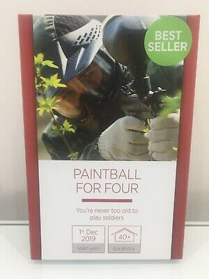 Paintball Four Four Activity Experience 40 Locations Out Red Letter Day