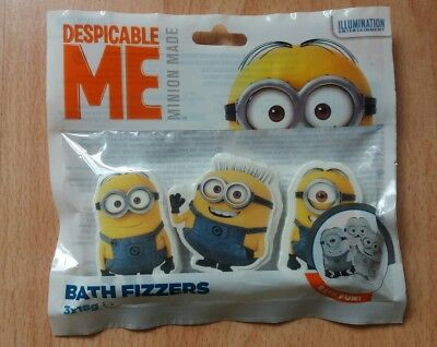 Despicable Me Bath Fizzers NEW!