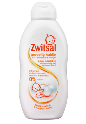 Zwitsal Shampoo en Wasgel Sensitive - 200 ml