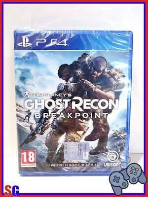 Tom Clancy's Ghost Recon Breakpoint Playstation 4 Ps4 Prodotto Italiano Nuovo