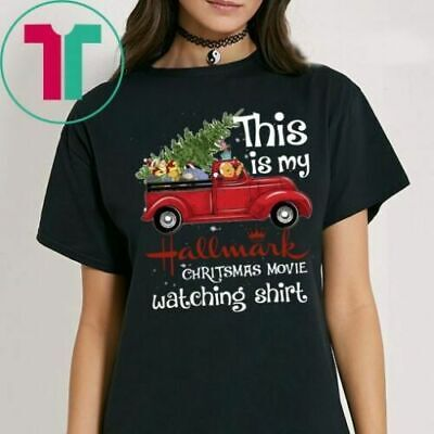 This Is My Hallmark Christmas Movie Watching shirt black MenWomen T-Shirt