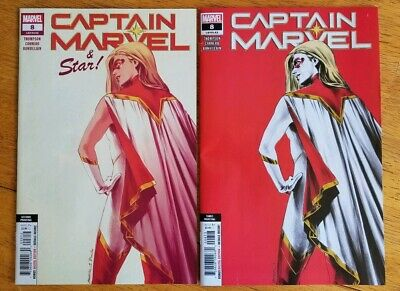 Captain Marvel #8 2Nd & 3Rd Print Set Vf/Nm