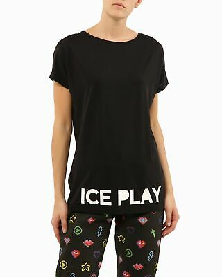 T-shirt ICE PLAY Ice Play Nero I 50%LYOCELL 30%POLIESTERE 20%COTONE
