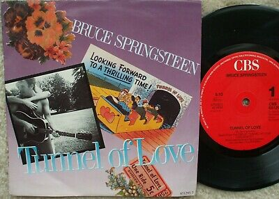 Bruce Springsteen - Tunnel Of Love / Two For The Road  EXCELLENT- Vinyl 45