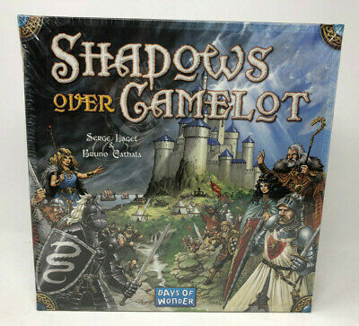 Shadows Over Camelot Board Game by Days Of Wonder - Brand New, Sealed box damage