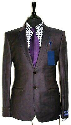Bnwt Luxury Mens Ted Baker London Tight Lines  Sports Suit Jacket 40R