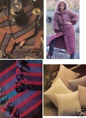 Handwoven magazine May 1982: jackets, afghans, coat, pillows, madras plaid LAST1