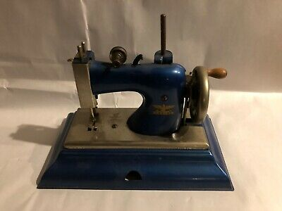 Vintage Casige Western Germany British Zone Hand Crank Sewing Machine Nice!
