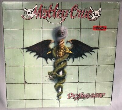 LP MOTLEY CRUE Dr Feelgood (LTD GREEN Vinyl, 180g, 2018) NEW MINT SEALED