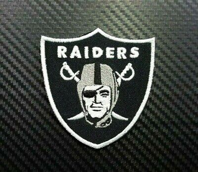 Oakland Raiders NFL FOOTBALL SPORTS BADGE CAP Embroidered Patch Iron On Sew Logo