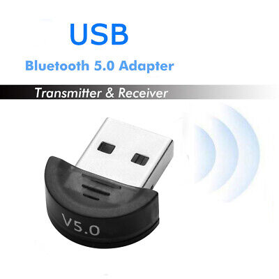 USB 5.0 Bluetooth Adapter Wireless Dongle High Speed for PC Windows Computer AU
